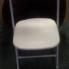 White Folding Chairs x24 $3.00 each