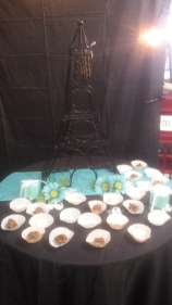 Eiffel Tower $40.00 / Table Cloth $3.00