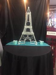 Eiffel Tower $40.00 /Table cloth $3.00