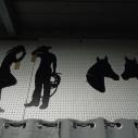 Horse Head Silhouette (2) $4.00 each