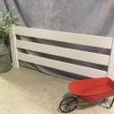 Fence $8.00 each / Wheel Barrow $3.00 / Milk can $4.00