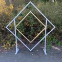 "Two-tone Diamond Arch (7' 10"") $60.00"