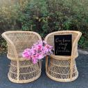 Wicker Chairs $25.00 each
