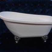 "White Plastic Tub 30"" x 15"""