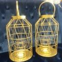 """Gold Lanterns 13 1/2"""""""
