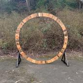"Two-Sided 94"" Round Arch $80.00"
