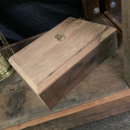Wooden Boxes $3 and $4 each