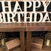 "Happy Birthday 9"" $5"