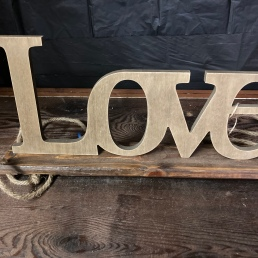"Love 6""-8"" $3"