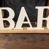 """Bar 9.5"""" $3"""
