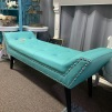 """Turquoise Bench 52"""" x 17.5"""" $20.00"""