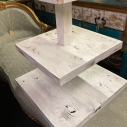 "2 new stands Rental $12.00 each 3 tier cake/cupcake/anything stand Top 9"" 2nd 16"" 3rd 20"""